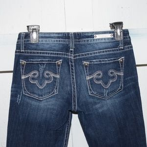 Express rerock boot womens jeans size 4 R 553